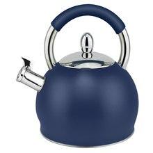 Hausroland Apple Shape Teapot 3.0L Whistling Kettle Steel Cool Handle A786