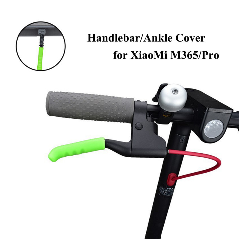 for Xiaomi M365 Scooter Braking Handlebar Silicone Cover Case AntiSlip Handle Bar PU Protector for Xiaomi M365 Eletric Scooter