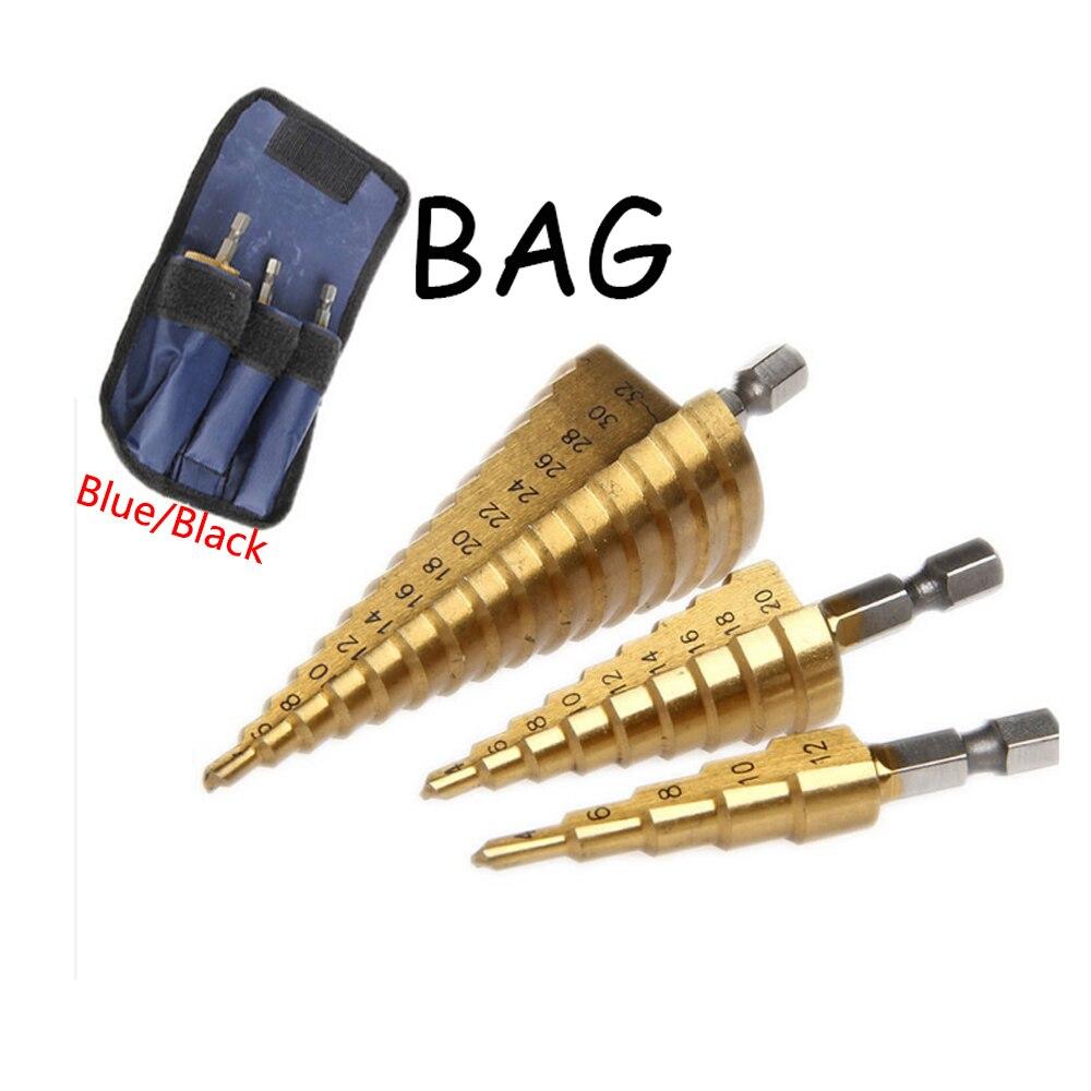 Wholesales 3x4-12/20/32 Spiral Grooved Center Drill Bit Solid Carbide Mini Drill Accessories Titanium Step Drill Bit