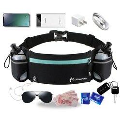 Trail Running Waist Belt Marathon Dual Pocket Bag Men Women Outdoor Fitness With Water Bottle Waterproof Phone Sport Waist Bags