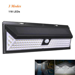 Solar Lamp 118 LED PIR Motion