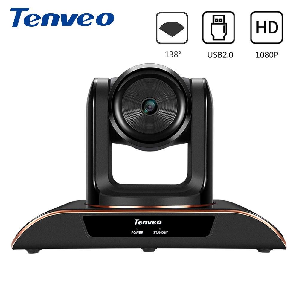 Webcam 1080P HD caméra de vidéoconférence USB Plug and Play caméra Web grand Angle système de conférence caméra 30fps Web Cam