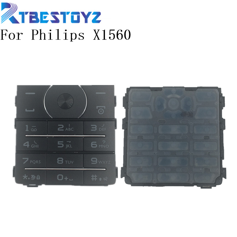 RTBESTOYZ Original X1560 XT1561 keypad For Philips CTX1560 XT1561 Mobile Phone keypads Cell Phone Parts image