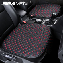 Car Seat Cover Set Universal Leather Car Seat Covers Protection Auto Seats Cushion Pad Mats Chair Protector Interior Accessories