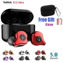 Sabbat E12 Ultra TWS Qualcomm Bluetooth v5.0 APTX Earphone Sports HiFi Stereo Ea