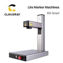 Cloudray sıcak satış EM-akıllı 20W Fiber lazer akıllı Lite markalama makinesi DIY Metal paslanmaz çelik ücretsiz nakliye DHL