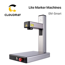 Cloudray Hot Selling EM-Smart 20W Fiber Laser Intelligent Lite Marking Machine for DIY Metal Stainless Steel Free Shipping DHL