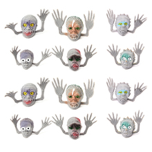 12 Pcs Halloween Horror Ghosts Monsters Puppets Play Dolls Antistress Toys Children Fingers Funny Gift Tell Stories Novelty Toy