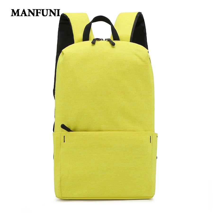 Waterproof Nylon Backpack Women Travel Bags Student Book Schoolbag Casual Laptop Bagpack Woman Teenage Girl Backpack Mochilas