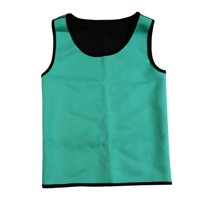 Slimming Belt Belly Men Slimming Vest Body Shaper Neoprene Abdomen Fat Burning Shaperwear Waist Sweat Corset Tank Tops 3