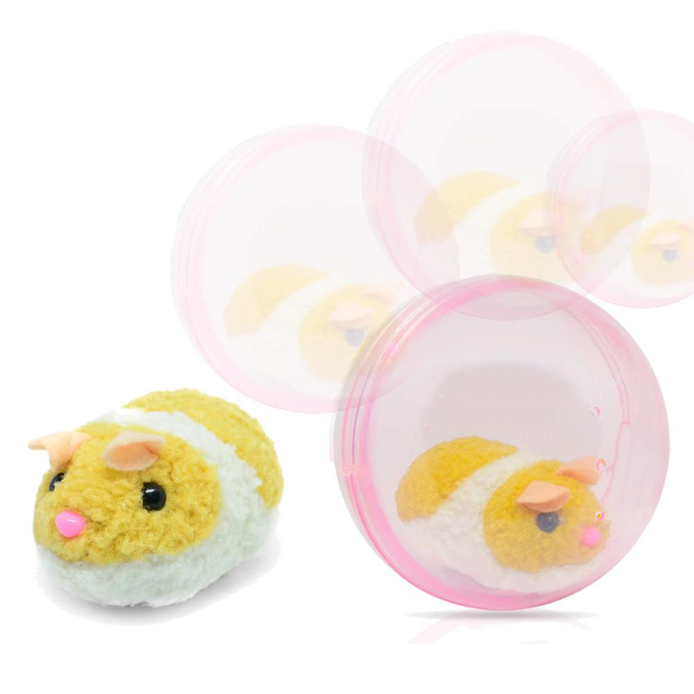 Lovely Electric Hamster Rat Rolling Ball Plush Toy Children Kids Birthday Gift Super Lovely Toy Would Like To Have Small Pet