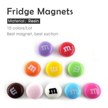 10pcs resin fridge magnets souveni