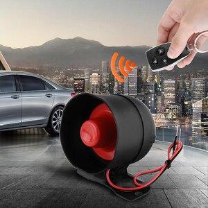 Image 2 - Auto Alarm Fahrzeug System 1 Weg Remote Zentrale Türschloss Keyless System Mit 2 Fernbedienung Einbrecher Schutz Sicherheit system