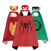 Disney Marvel Spiderman iron man Hulk captain America Thor Venom Cloak Cape action figure Costumes Cosplay Birthday Gift Toys