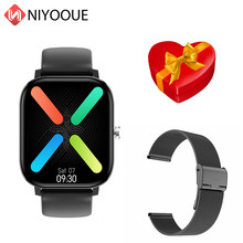 DT36 Смарт-часы для мужчин 420*485 Bluetooth Вызов 1,75 дюймов монитор сердечного ритма трекер фитнес Мода Спорт для женщин Lite Smartwatch