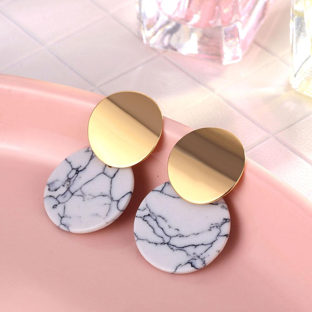 IPARAM, новинка, большие круглые серьги-кольца для женщин, модные, массивные, золотой, в стиле панк, очаровательные серьги, вечерние ювелирные изделия - Окраска металла: E849-1
