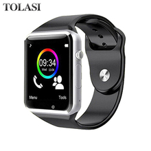 A1 WristWatch Bluetooth Smart Watch Sport Pedometer with SIM Camera Smartwatch For Android Smartphone Russia Smartwatch цена