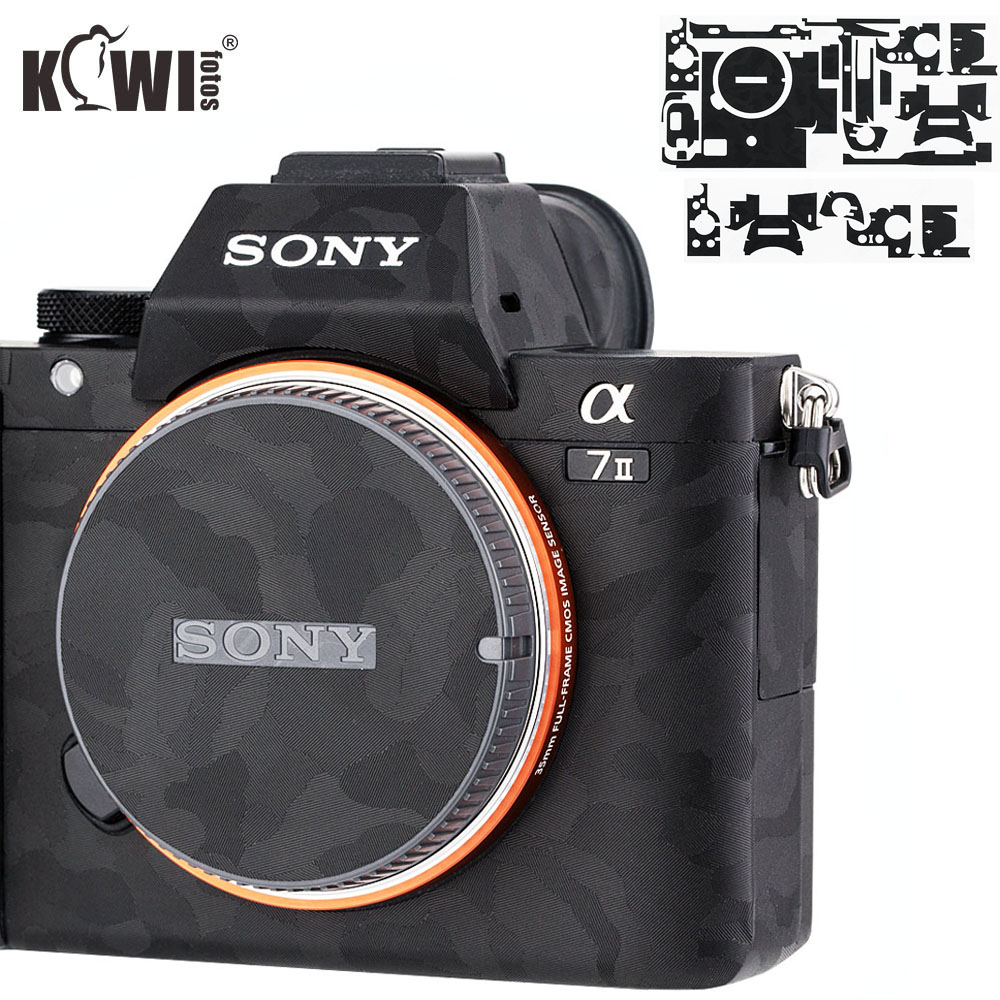 Shadow Black Anti-Scratch Protective Skin Film For Sony A7 II A7S II A7R II A7II A7SII A7RII A7M2 A7SM2 A7RM2 Camera Decoration