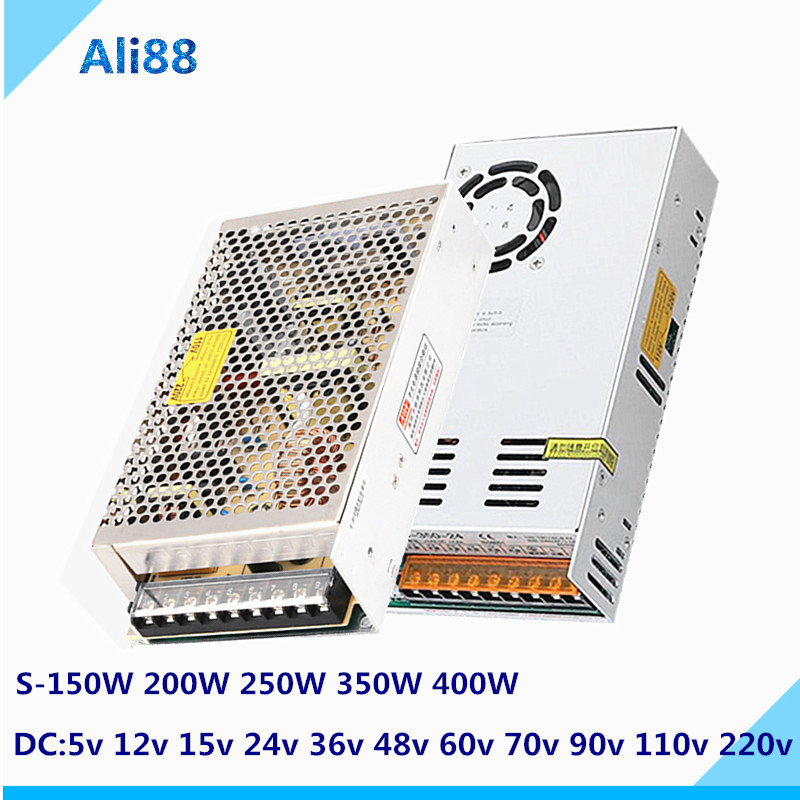 220 turn 24V switching power supply DC5V 12V 15V 36V 48V 60V laboratory transformer CCTV/LED Strip AC/DC smpspower source Adapte image
