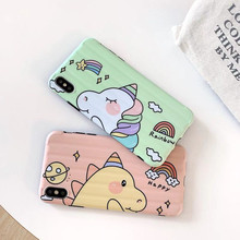 Cute Cartoon Rainbow Unicorn Phone Cases Silicone Cover for iPhone X XS Max XR case For iphone 8 7 6 6s Plus Soft fundas