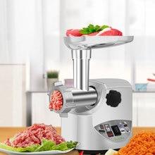 Meat Mincer Food-Processor Stuffer Home-Sausage Biolomix 3000W Heavy-Duty Max-Powerful