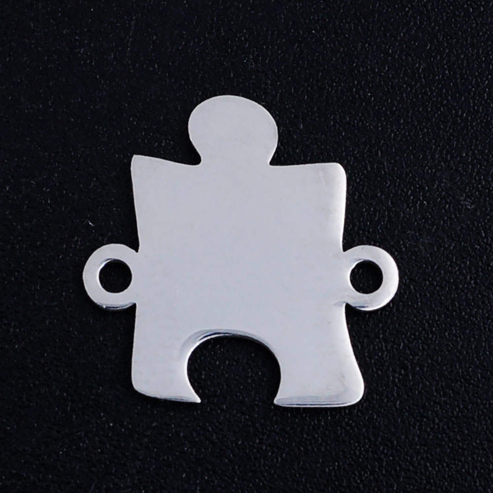 Jewelry Pendant Stainless-Steel Factory-Store Necklace Charm Making Wholesale 5pcs/Lot