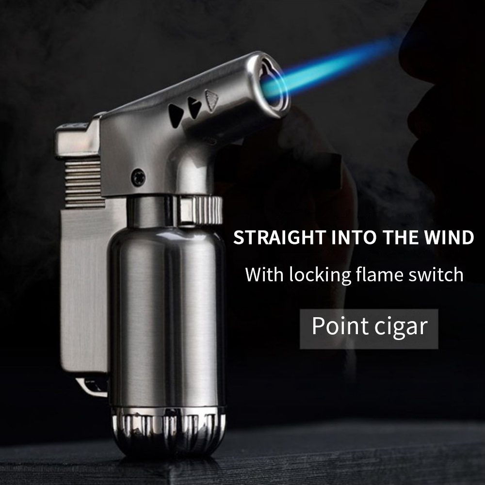 Gas Propane Torch Flame BBQ Lighter Turbotorch Blow Torch Tig Flamethrower Weldingtorch Welding Cooking Soldering Torch Gun