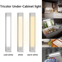 60 LED Closet Light Motion Sensor Wireless Magnetic Light for Wardrobe Hallway Stairs S7 #5