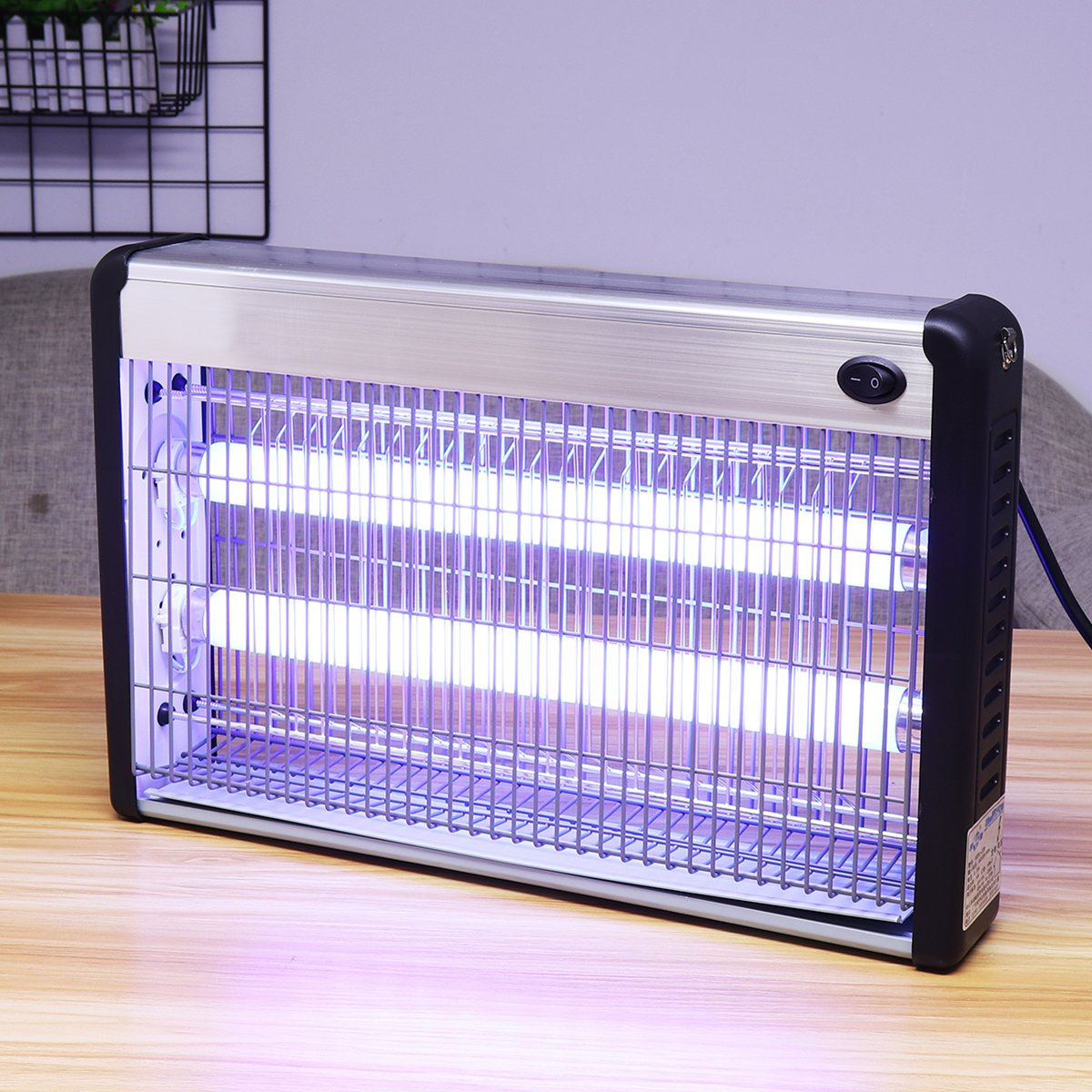 20/30/40W Electric Insect Killer LED UV-A Electronics Mosquito Repeller Pest Fly Bug Zapper Catcher Traps Home Pest Control Lamp