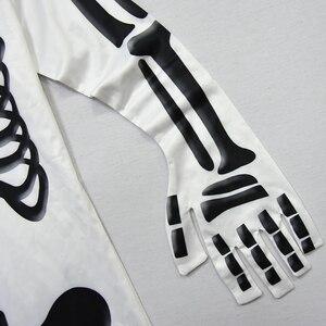 Image 4 - Ghost גולגולת קוספליי תחפושות בני סרבל מסיבת שלד תלבושות ילדים מסיבת תחפושות ילדים ליל כל הקדושים מסכה