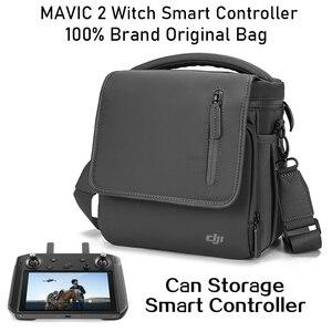 Image 5 - Dji Mavic 2 torba inteligentny kontroler marki oryginalna wodoodporna torba na ramię torba dla Mavic 2 pro/zoom akcesoria do toreb na ramię