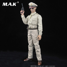 1/6 Scale Military model accessories Kuomintang army captain Regular summer clothes set No:G-002 for 12male action figure body 1 6 scale military figures 1 6 male body series asian skin tone mx02 b resin model body free shipping