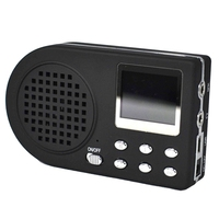 Ablb-狩猟おとり鳥の発信者MP3 プレーヤー鳥サウンドスピーカー液晶画面狩猟デジタル機器ポータブルeuプラグ