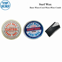 цена на Natural Surfboard Base Wax+Cool Water Wax+surf wax comb surf wax for surfing sport