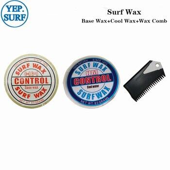 Natural Surfboard Base Wax+Cool Water Wax+surf wax comb surf wax for surfing sport surf wax cool water wax surf wax comb good quality surfboard wax