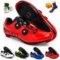 Кроссовки мужские велосипедные, уличная спортивная обувь для горных велосипедов, профессиональные сникерсы с самоблокировкой, Spd
