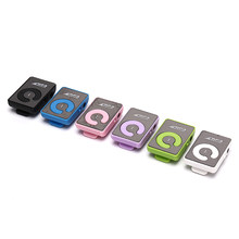 Mini Mirror Clip MP3 Player Portable Fashion Sport USB Digital Music Player Micro SD TF Card Media Player(China)