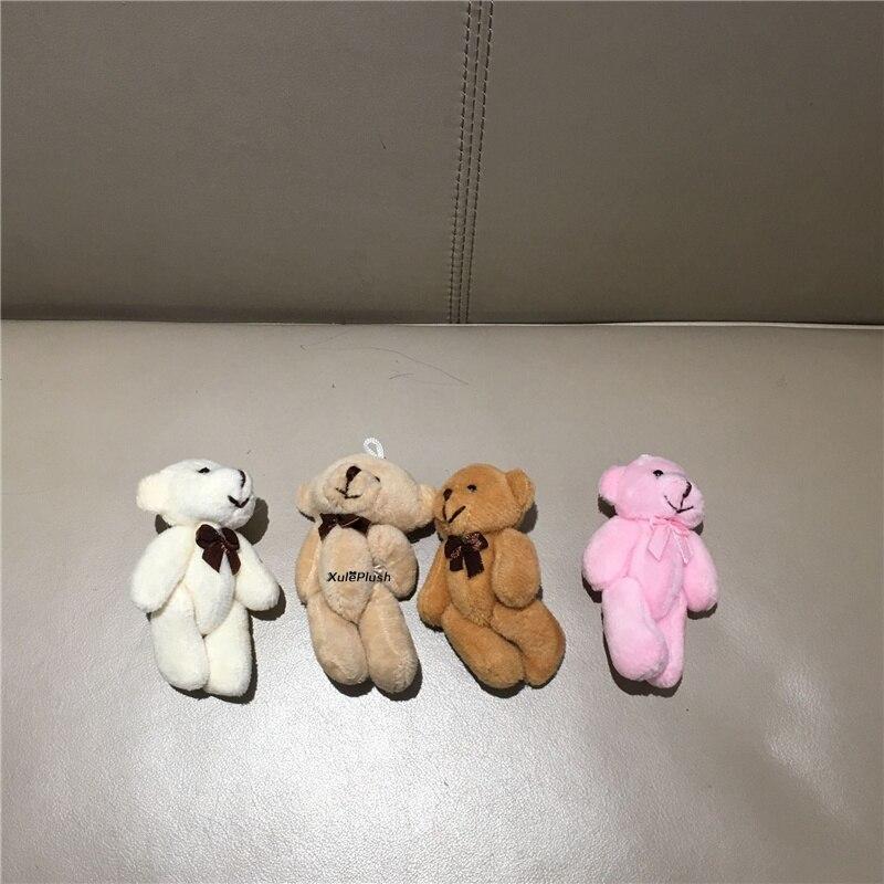 20 teile/los, Bär Plüsch Spielzeug Puppe; Größe 8cm mini Hochzeit Geschenk SPIELZEUG PUPPE