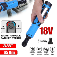 Spanner Screwdriver Electric-Wrench Angle-Drill Ratchet Car-Repair-Tool Cordless Removal-Screw-Nut
