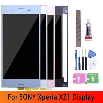 Display Touch Screen per SONY Xperia XZ1 - SONY XZ1 Dual LCD - XZ1 G8341 G8342 LCD 1