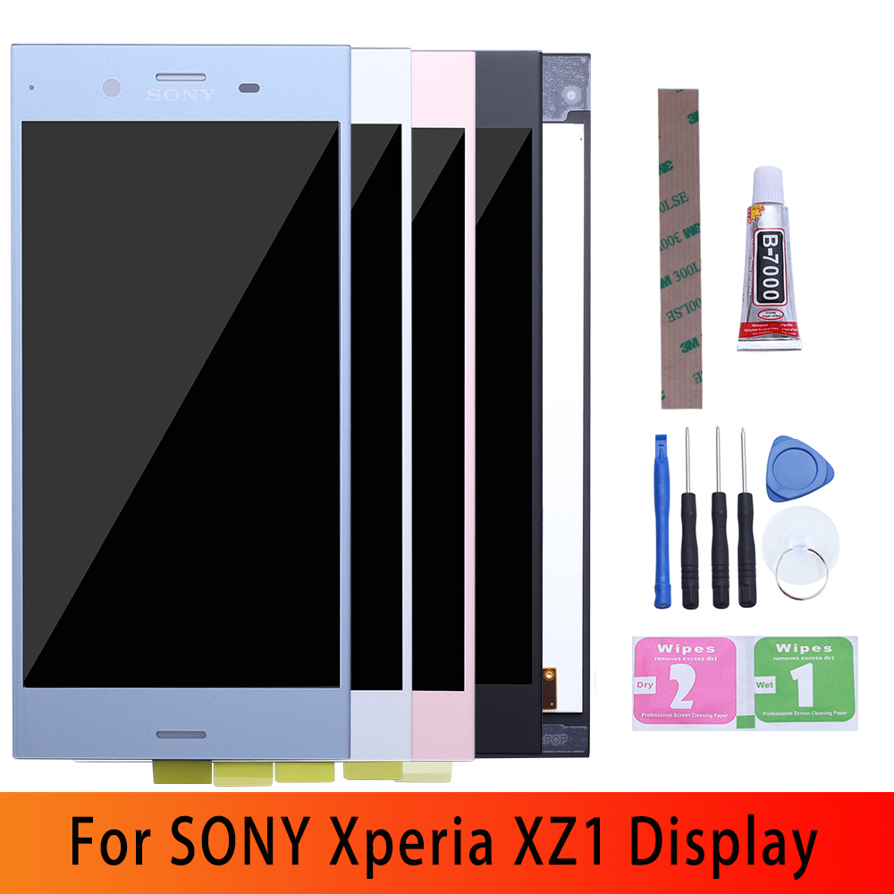 """5.2"""" Original LCD for SONY Xperia XZ1 Display Touch Screen Replacement for SONY XZ1 Dual LCD Display Module XZ1 G8341 G8342 LCD(China)"""