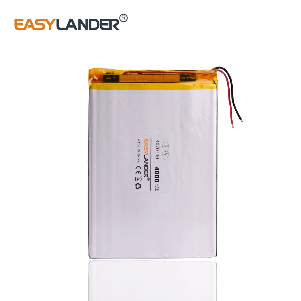 3.7V 4000MAH <font><b>4070100</b></font> tablet battery with protection board For MID 7inch Tablet PC image