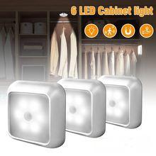 Ночник с 6 светодиосветодиодный инфракрасный светильник датчиком