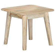 Table basse 45x45x40 cm bois de manguier massif
