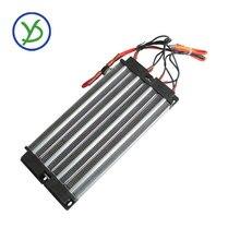 Alta qualidade 2000w 220v aquecedor elétrico ptc cerâmica aquecedor de ar isolado 230*102mm