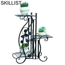Outdoor Decor Support Plante Exterieur Mensola Porta Piante Rack Decoration Planten Rek Stand Balcony Flower Balcon Plant Shelf