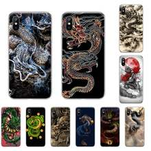 Chinese Element Dragon Phone Case For iphone 4 4s 5 5S SE 5C 6 6S 7 8 plus X XS XR 11 PRO MAX(China)
