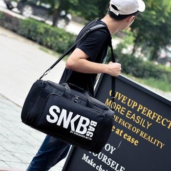 2019 Men Women Gym Bag For Sneaker Shoes Compartment Packing  Organizer Waterproof Nylon Sport Travle Duffel Bags Wholesale 1