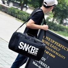 2019 Men Women Gym Bag For Sneaker Shoes Compartment Packing  Organizer Waterproof Nylon Sport Travle Duffel Bags Wholesale