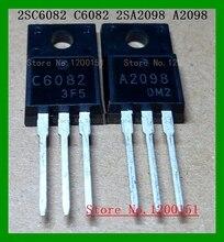 10pcs/lot=5pair 2SC6082 2SA2098 C6082 A2098 2SA2099 2SC5888 A2099 C5888 2SA2210 2SC6082 A2210 C6082 TO220F